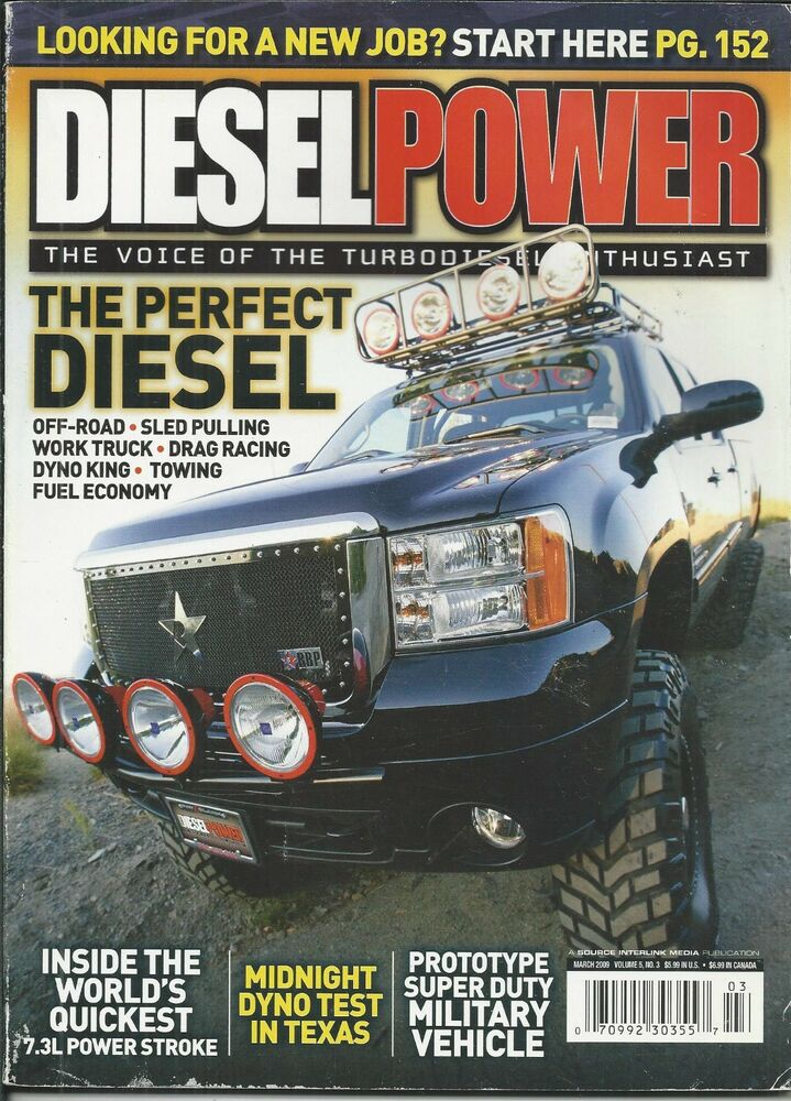 diesel power truck magazine off road sled pulling drag racing dyno fuel economy ebay. Black Bedroom Furniture Sets. Home Design Ideas