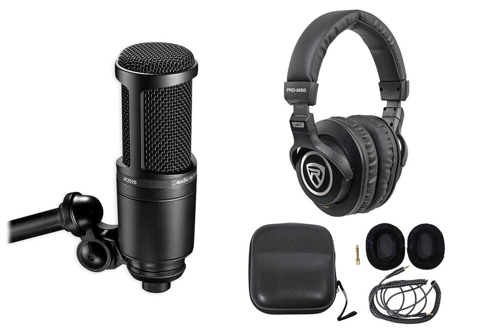 audio technica at2020 studio microphone cardioid condenser. Black Bedroom Furniture Sets. Home Design Ideas