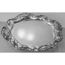 Chantilly Grand by Gorham Sterling Silver tray, A586