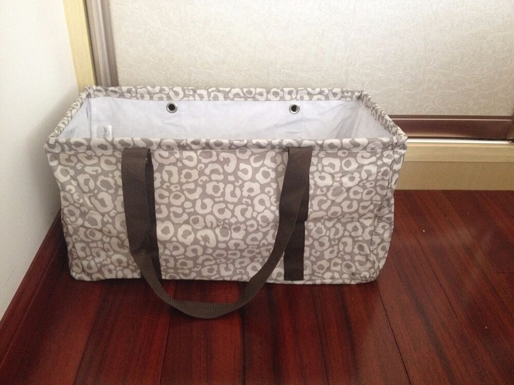 New Thirty one Gifts LARGE UTILITY TOTE Basket Beach ...