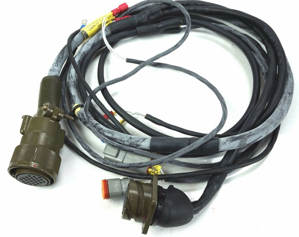 Cannon Wire Harness Wiring Library Plugs Branched Female Ca Reverse Bayonet Connectors Ebay