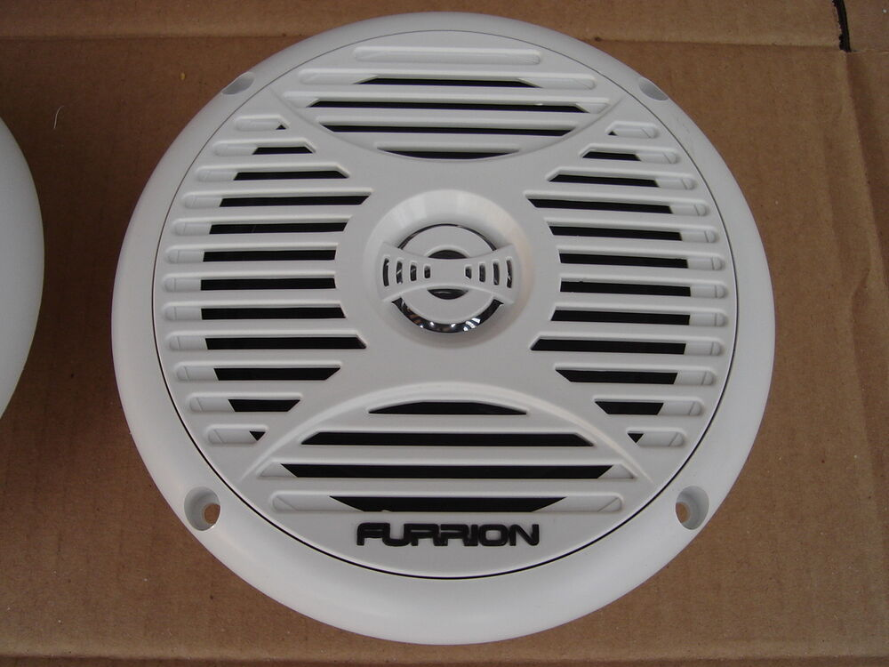 One Round 5 Quot Marine Speakers 30 Watts 4 Ohms Furrion Fms5w