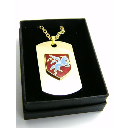 img-THE ROYAL ARMY AIRBORNE BADGE DOG TAG PENDANT MILITARY GIFT IN BOX