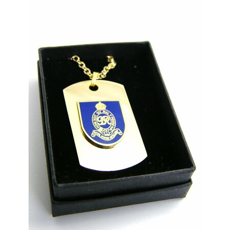 img-THE ROYAL HORSE GUARDS BADGE DOG TAG PENDANT MILITARY GIFT IN BOX