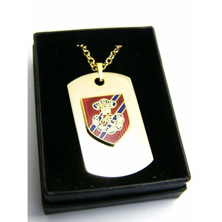 img-THE ROYAL ENGINEER CYPHER OFFICER BADGE DOG TAG PENDANT MILITARY GIFT IN BOX
