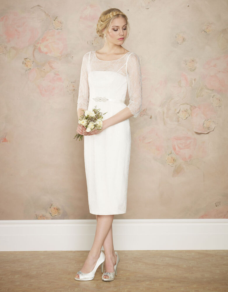 Monsoon ekaterina ivory wedding dress new with tags for Monsoon wedding dresses uk