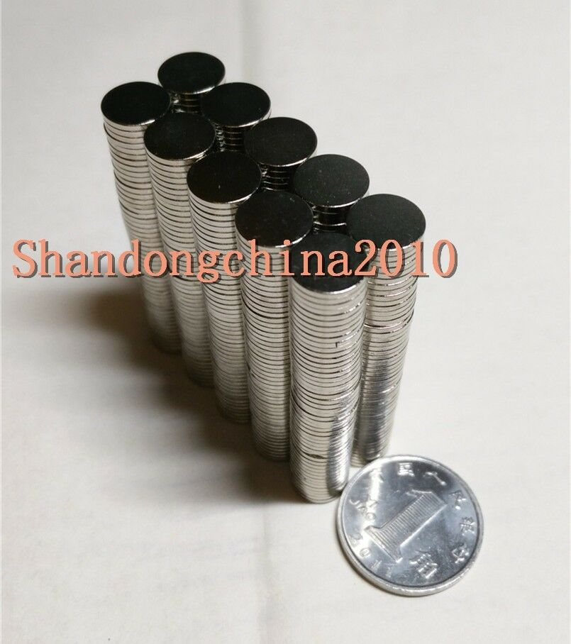 Lot small thin neodymium disc magnets 8mm dia x 1mm n35 for Small magnets for crafts