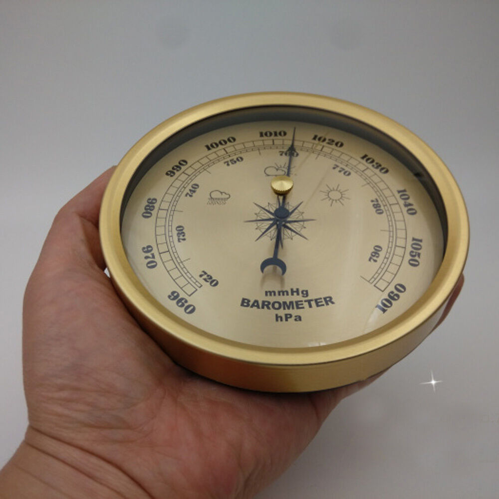 132mm barometer weather mechanical fishing outdoor vintage for Barometer and fishing