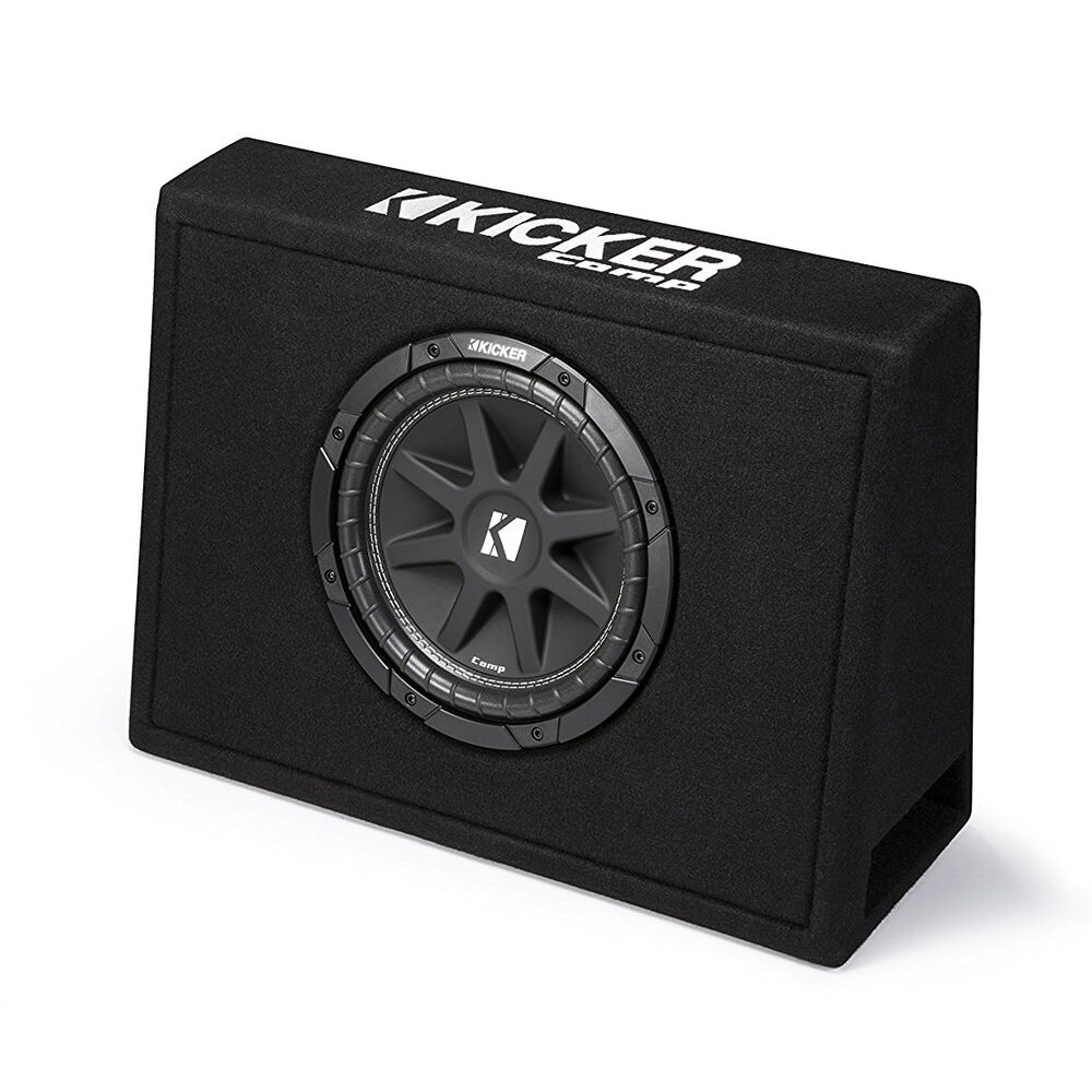 Kicker single 10 inch comp 4 ohm 150w loaded subwoofer for Box subwoofer in vetroresina