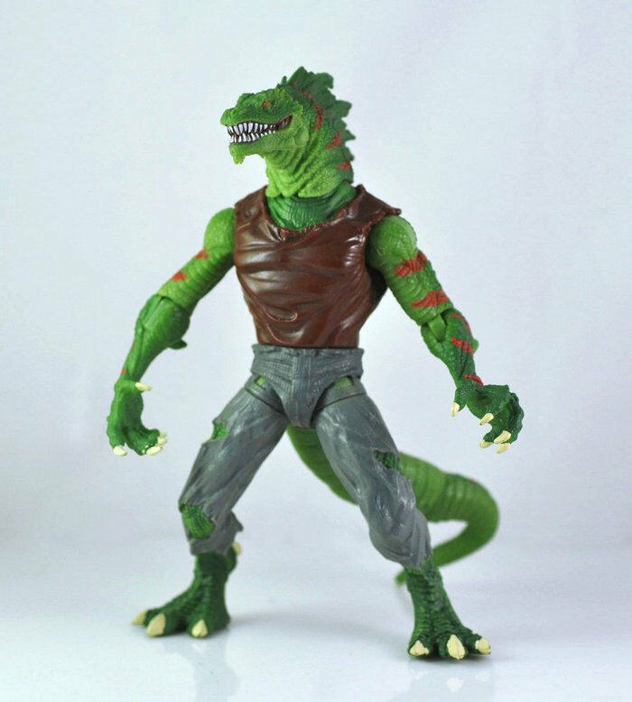 Lizard Toys For Boys : Spiderman the lizard quot action figure loose toy ebay