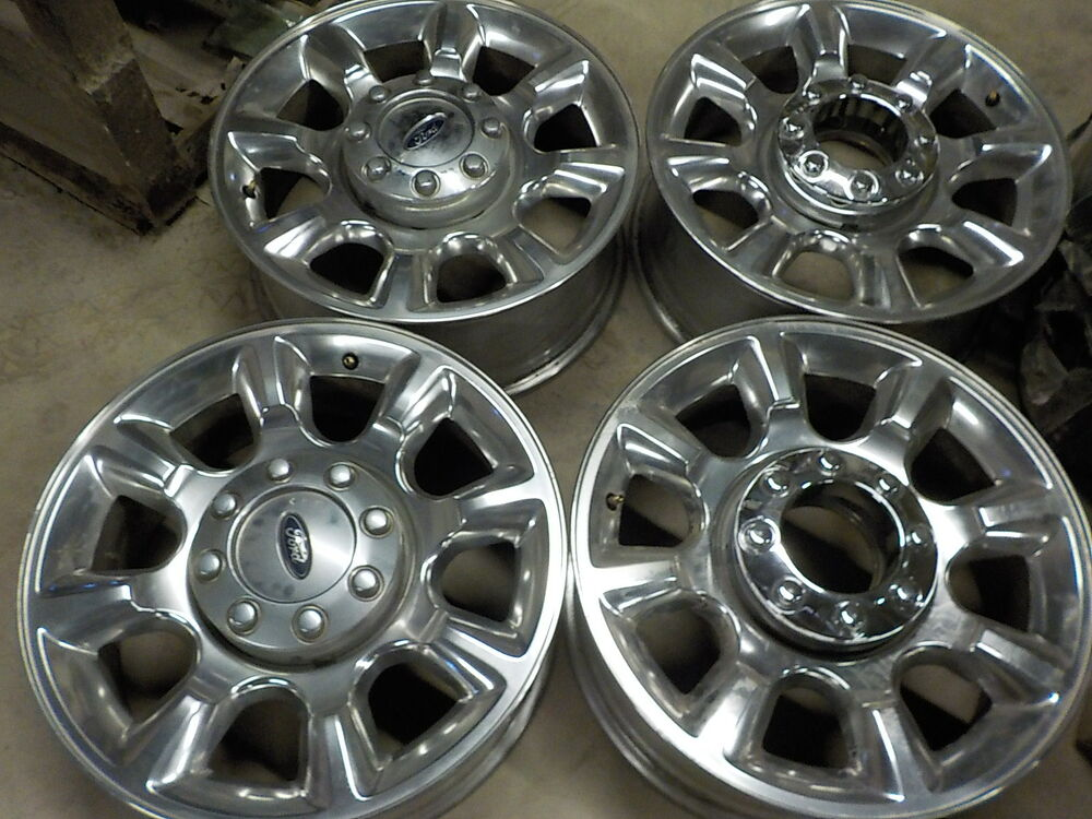 "4 2014 Ford F250 Factory 20"" Alloy Wheels 05 17 F350"