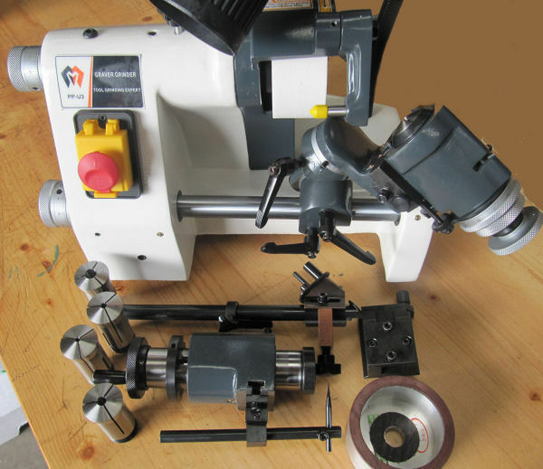 Tool And Cutter Grinder ~ Rdg tools universal tool and cutter grinder with