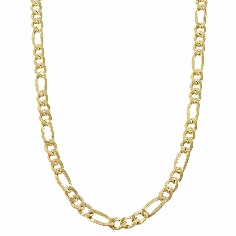 Fremada 14k Yellow Gold-filled Figaro Link Chain Necklace ...