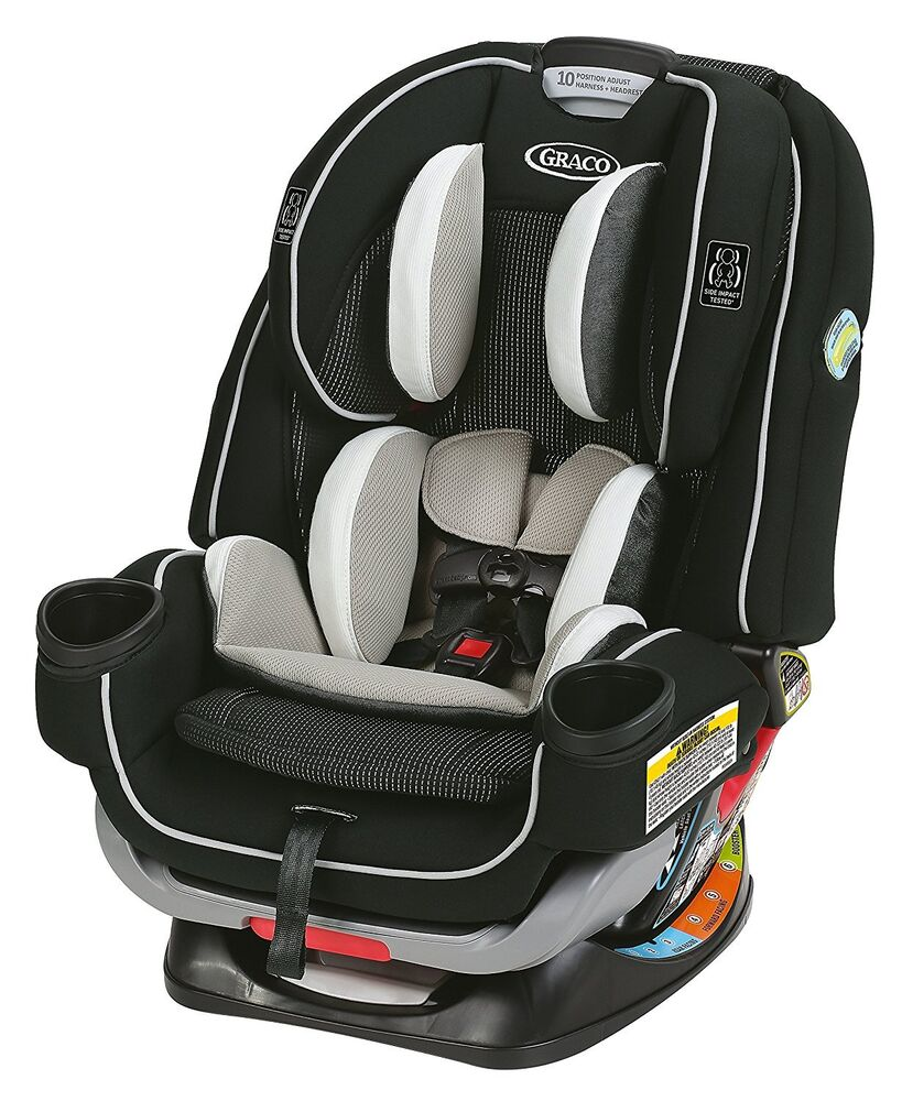 graco baby 4ever extend2fit all in 1 convertible car seat infant booster clove ebay. Black Bedroom Furniture Sets. Home Design Ideas