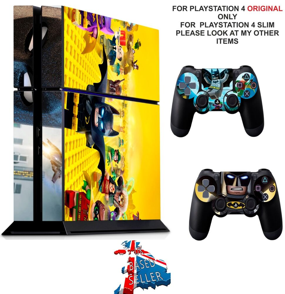 Details about lego batman ps4 textured vinyl protective skin decal wrap stickers