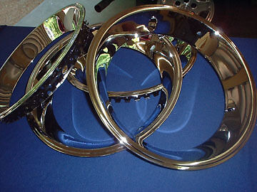 chevelle camaro nova rally wheel trim rings 14 x 2 1 4. Black Bedroom Furniture Sets. Home Design Ideas