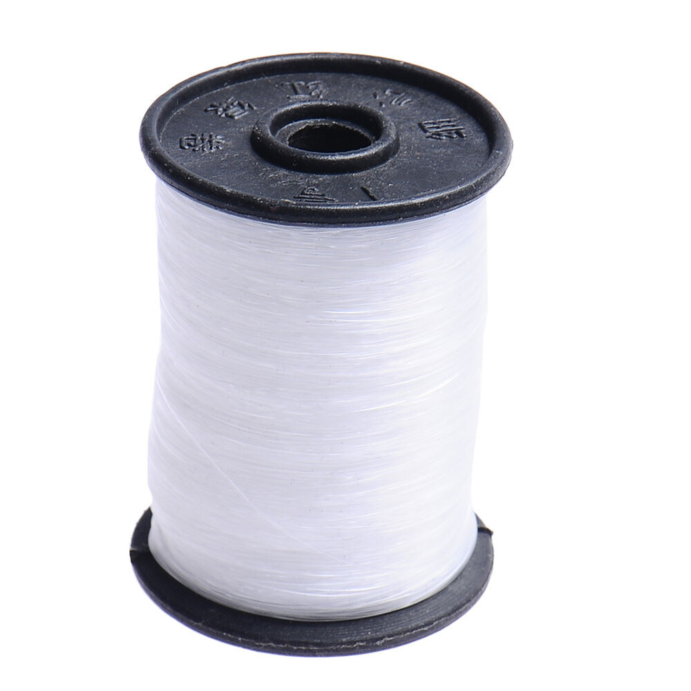 New nylon crystal cord string wire beading transparent for Nylon fishing line
