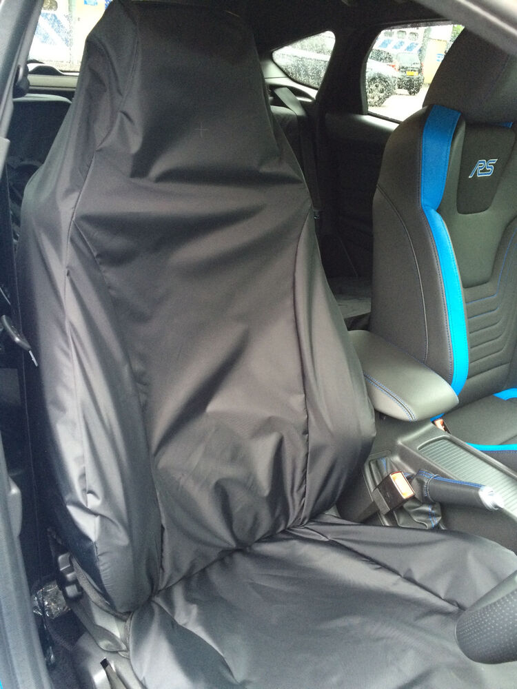 tailored protective recaro seat cover ford focus rs mk3. Black Bedroom Furniture Sets. Home Design Ideas