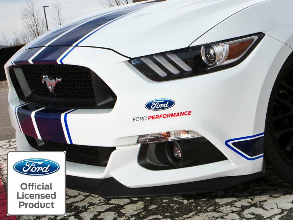 new mustang ford performance 8 in vinyl decal sticker graphics ford racing ebay. Black Bedroom Furniture Sets. Home Design Ideas