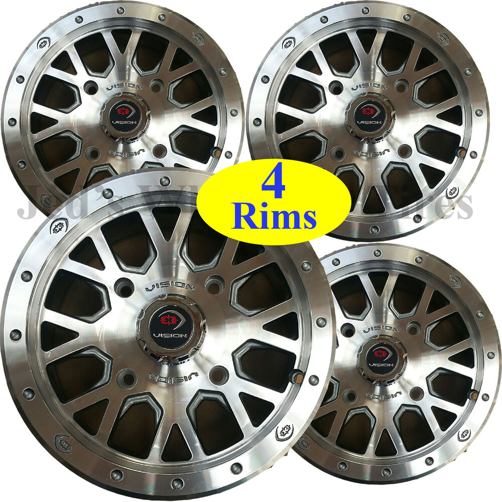 Atv Rims Wheel Covers : Quot aluminum atv rims wheels some polaris ranger diesel