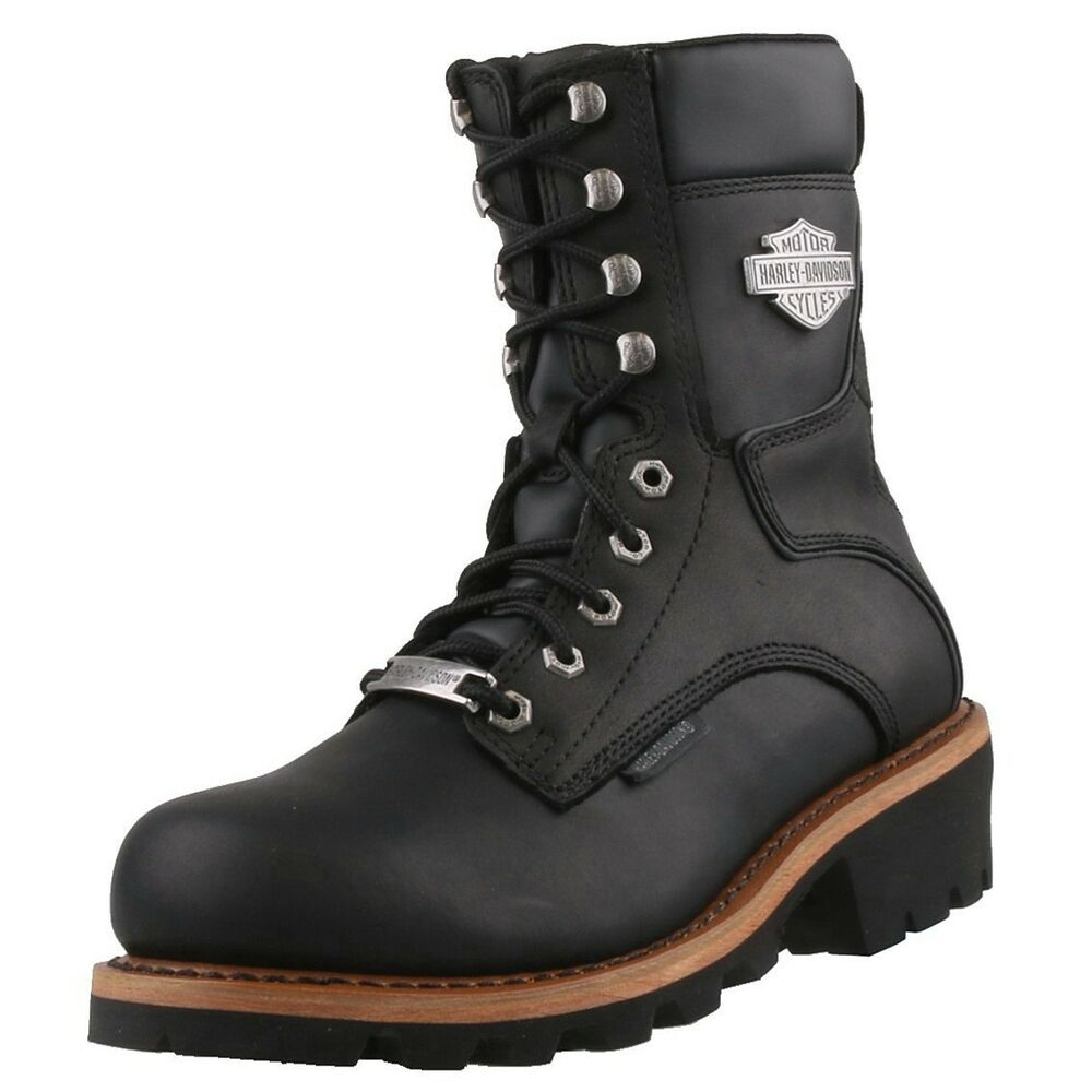 neu harley davidson herrenschuhe schuhe leder stiefel engineer boots bikerboots ebay. Black Bedroom Furniture Sets. Home Design Ideas