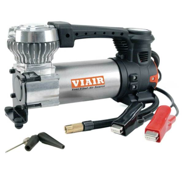Viair 88P Portable Compressor Kit w/ Power Cord and Air Hose for Tires up to 33