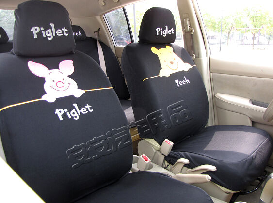 new winnie the pooh car seat covers ebay. Black Bedroom Furniture Sets. Home Design Ideas