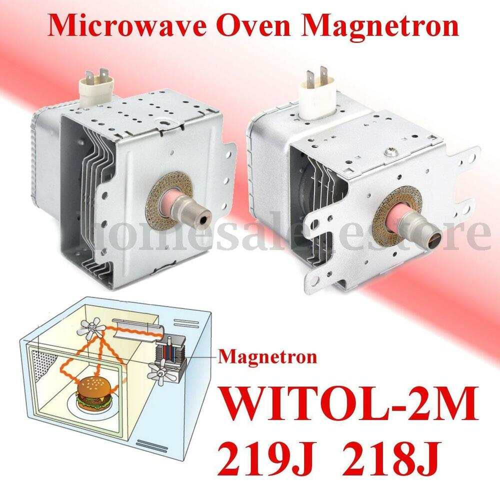 Microwave Oven Roaster Magnetron Replacement Parts For Midea Witol 2m 219j 218j Ebay