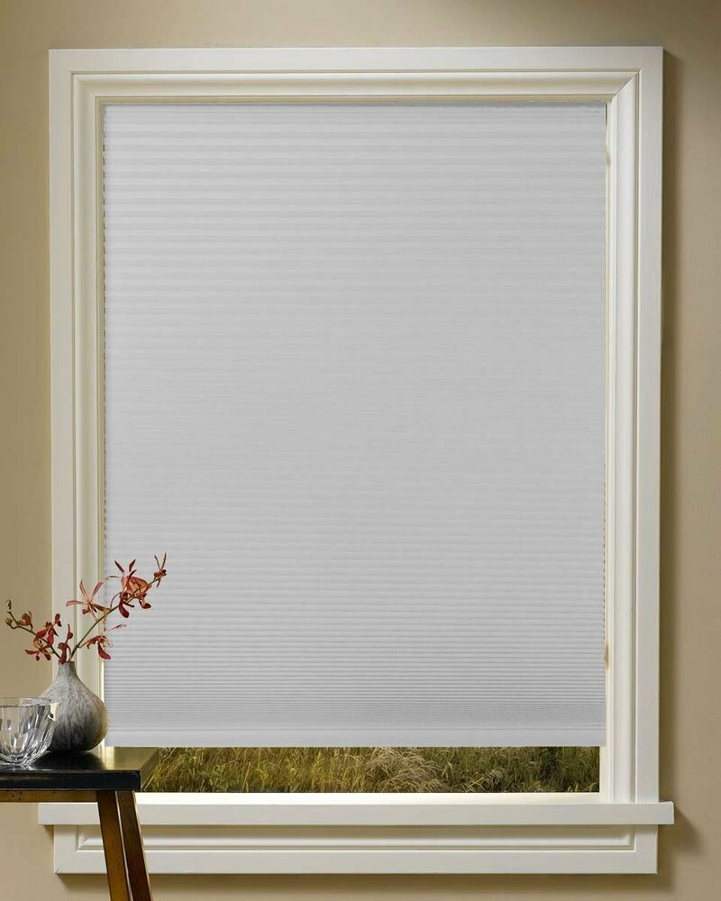 mirage cordless blackout cellular shades seven colors free shipping ebay. Black Bedroom Furniture Sets. Home Design Ideas