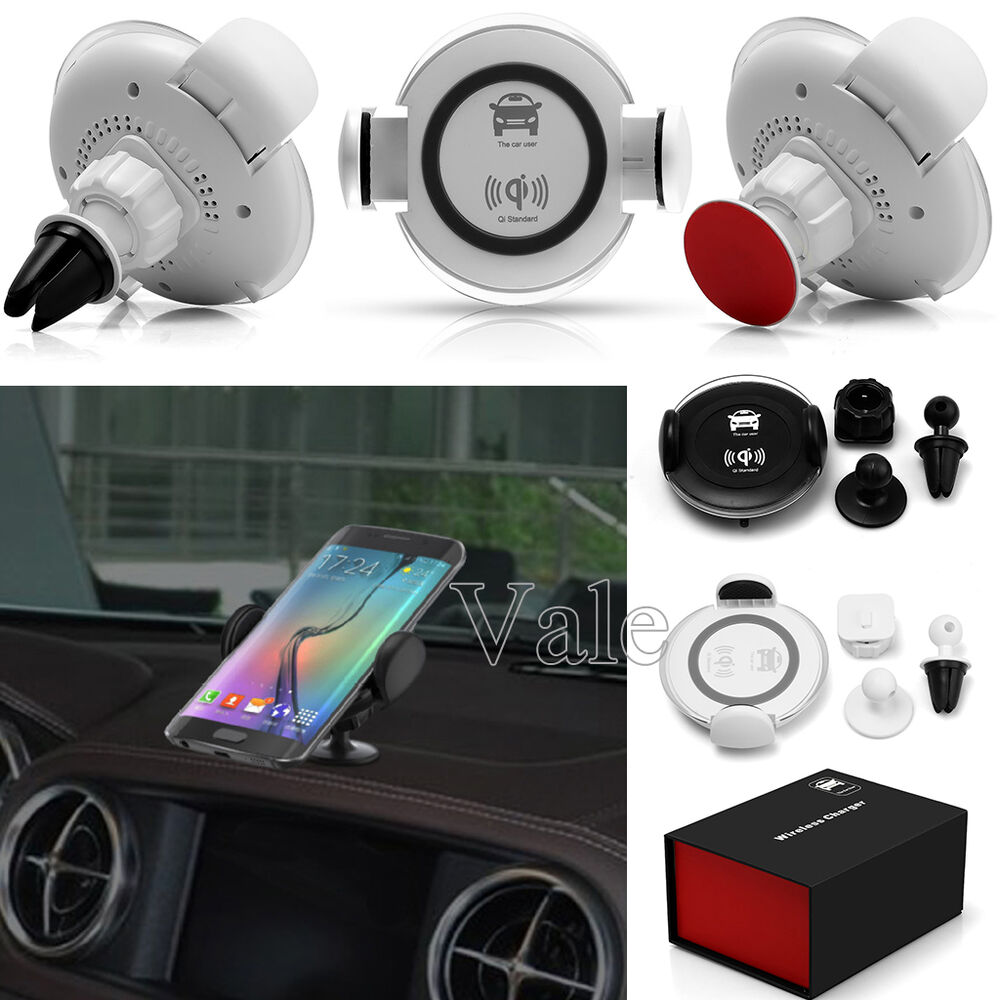 Amazoncom QI Wireless Car Charger DOCA Magnetic QI