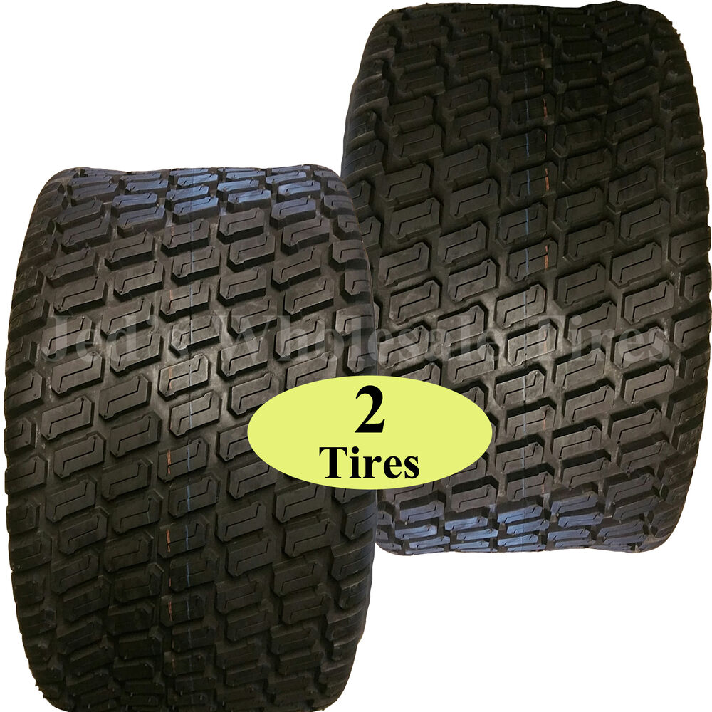 Two Tires For Zero Turn Riding Lawn Mower Garden Compact Tractor 6ply Ebay
