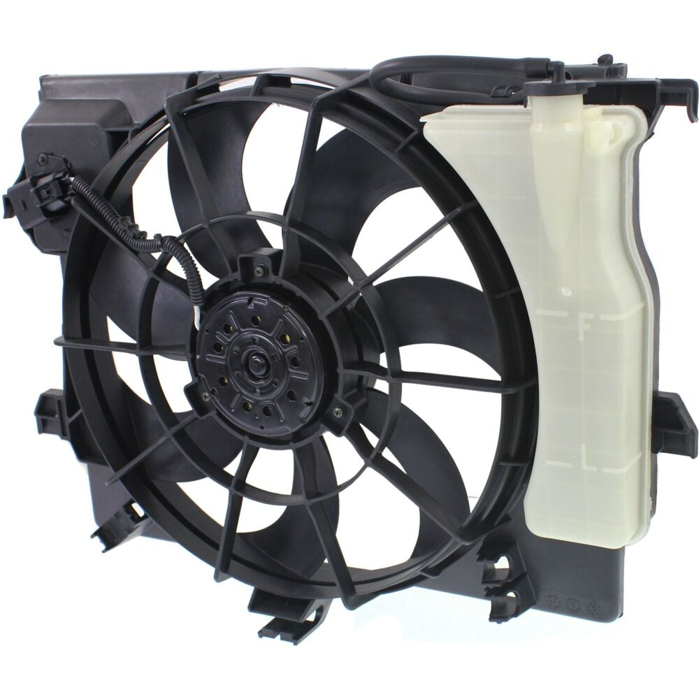 Radiator Cooling Fan For 2012 2013 Hyundai Accent Veloster
