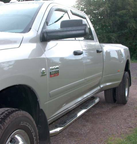 BODY SIDE Moldings, PAINTED Trim Mouldings For: RAM 1500