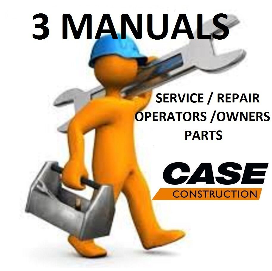CASE 1816B Skid Steer **3 MANUALS** SERVICE REPAIR, OWNERS OPERATORS,  PARTS, PDF | eBay