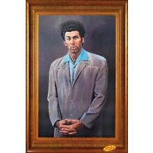 Seinfeld Kramer Portrait Faux Frame Michael Richards TV Poster 24x36