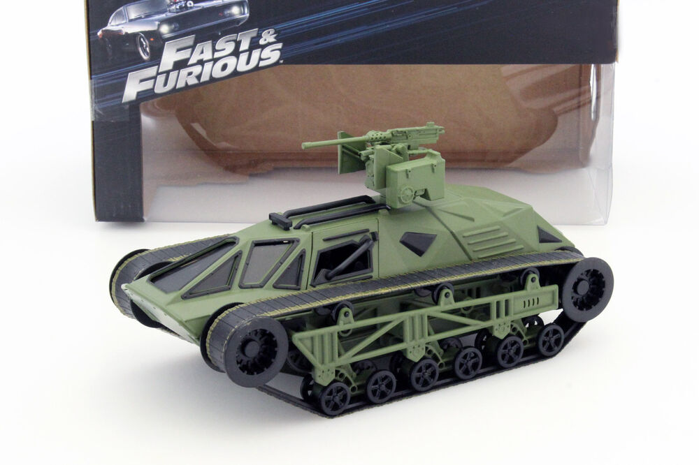 ripsaw panzer fast and furious 8 gr n 1 24 jada toys ebay. Black Bedroom Furniture Sets. Home Design Ideas