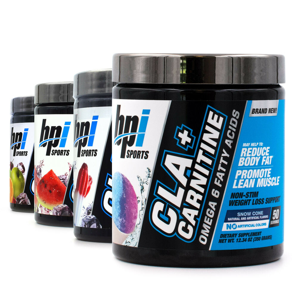 BPI Health CLA + CARNITINE Non-Stim Weight Loss & Lean