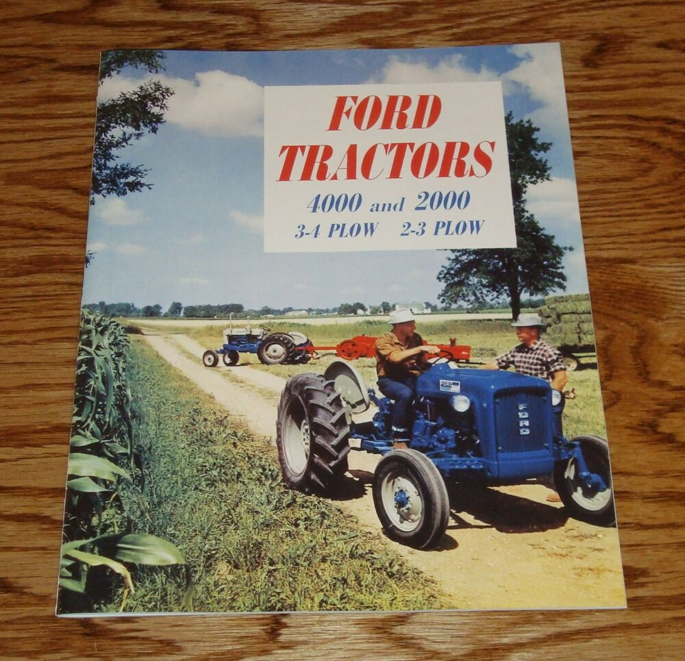 1963 Ford 2000 Tractor : Ford tractor plow sales