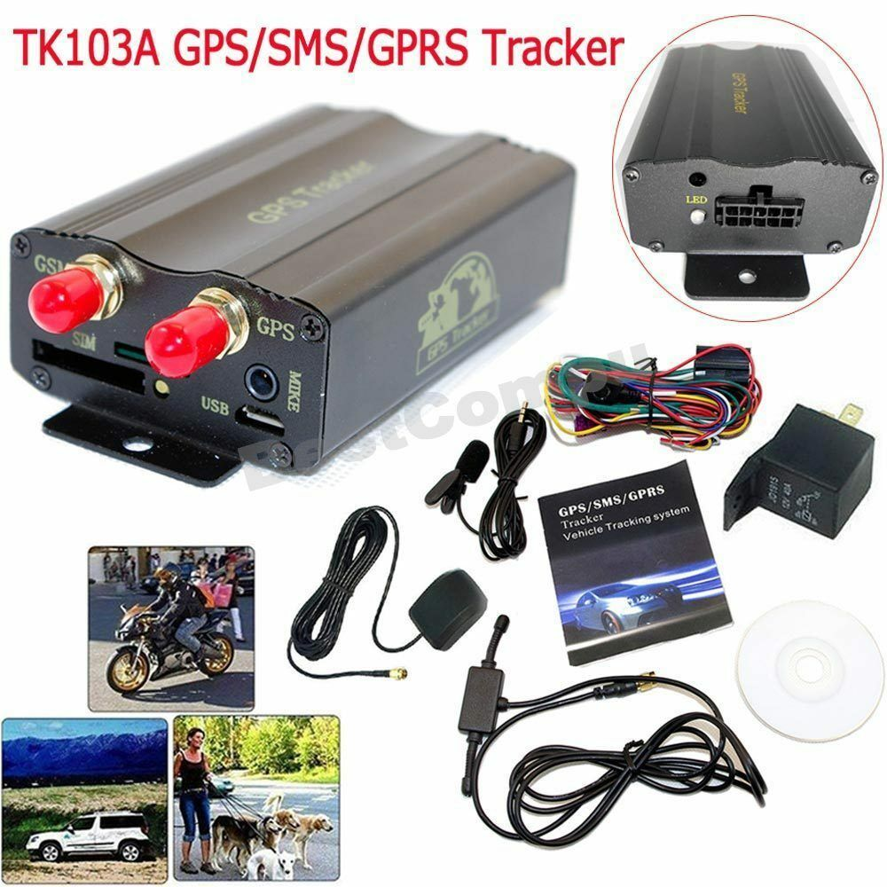 new gsm gps gprs car tracker vehicle gps103a tk103a alarm. Black Bedroom Furniture Sets. Home Design Ideas