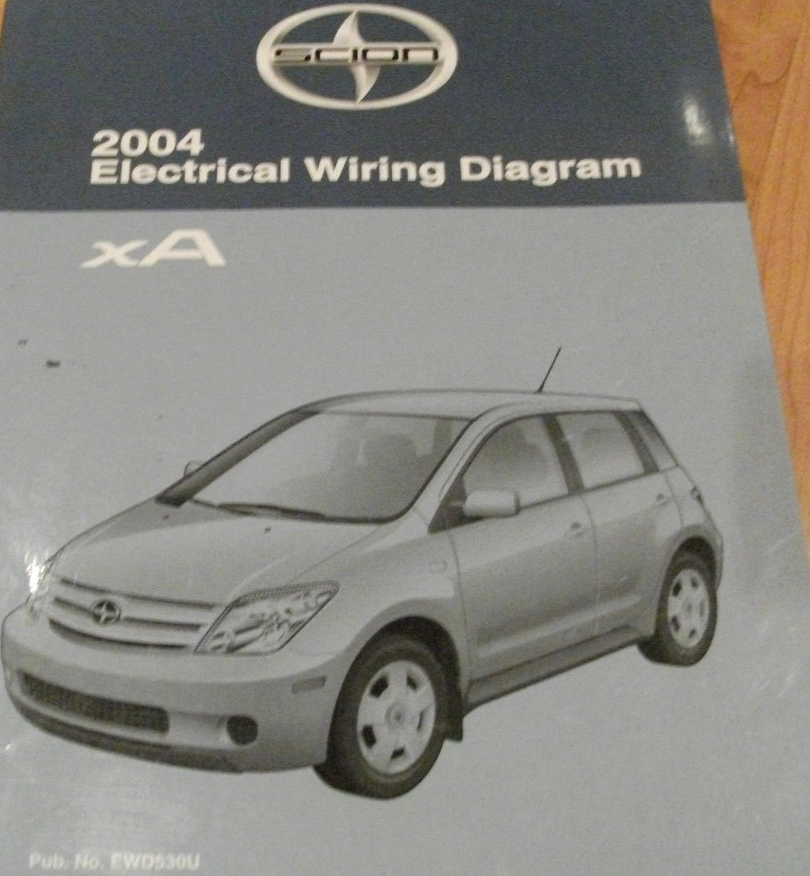 Toyota Ist Wiring Diagram Library Power Antenna 2004 Scion Xa Electrical Service Shop Repair Manual Ewd Ebay
