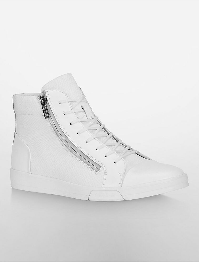calvin klein mens berke high top sneaker shoe ebay. Black Bedroom Furniture Sets. Home Design Ideas