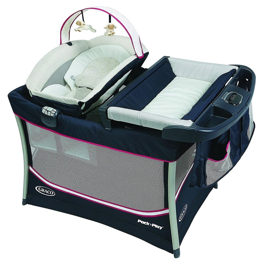 Graco Pack 'n Play Playard Everest w/Removable Bassinet ...