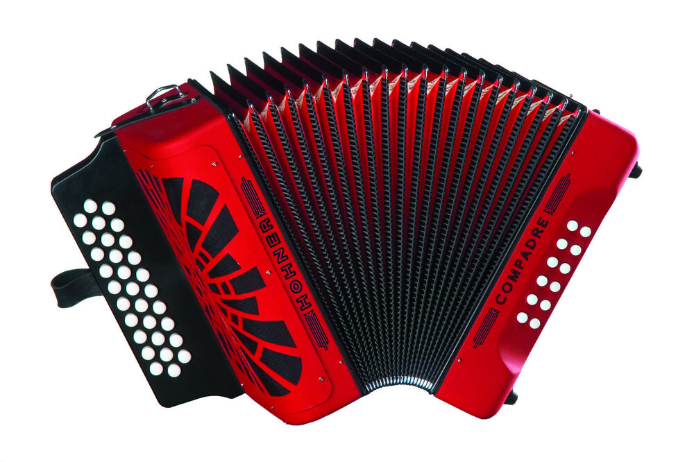hohner compadre ead mi accordion coer acordeon red bag shirt backpad worldship ebay. Black Bedroom Furniture Sets. Home Design Ideas