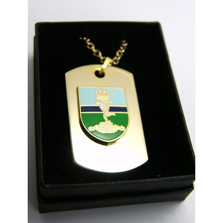 img-THE ROYAL CORPS OF SIGNALS BADGE DOG TAG PENDANT MILITARY GIFT IN BOX