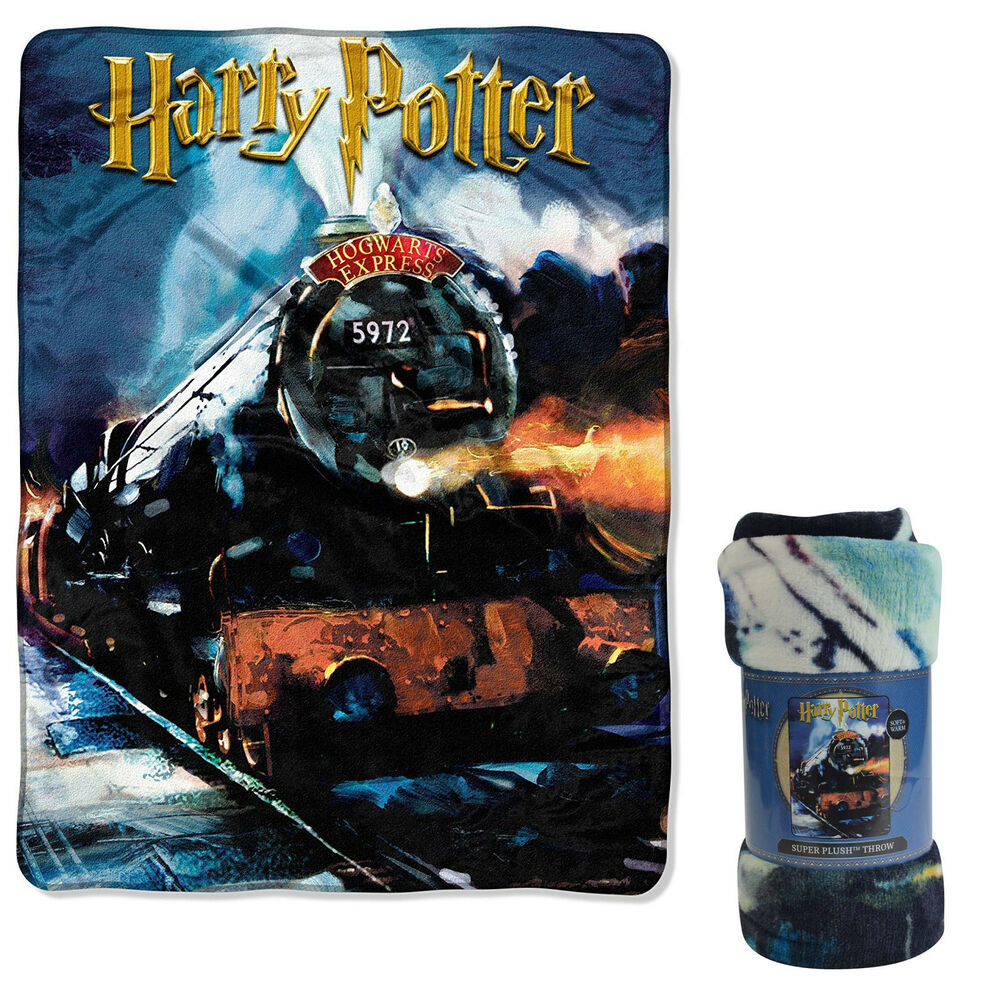 new harry potter hogwarts express super soft large throw. Black Bedroom Furniture Sets. Home Design Ideas