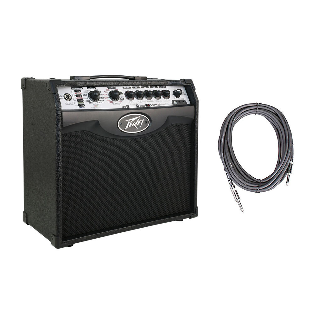 peavey vypyr vip 1 combo modeling guitar amp 20 watt amplifier 10 39 cable 695976337399 ebay. Black Bedroom Furniture Sets. Home Design Ideas