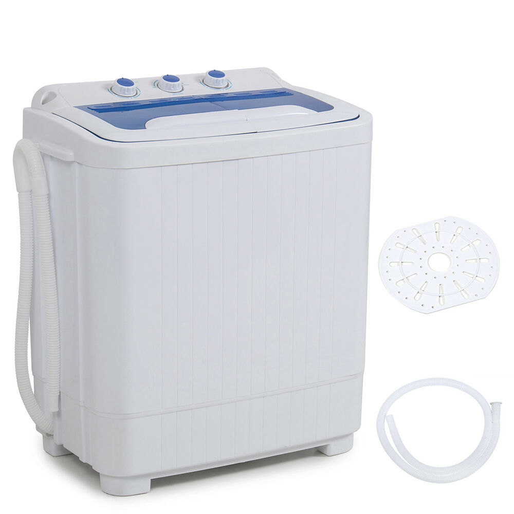 Portable Mini Washer Machines Compact 8 9lb Washing Spin