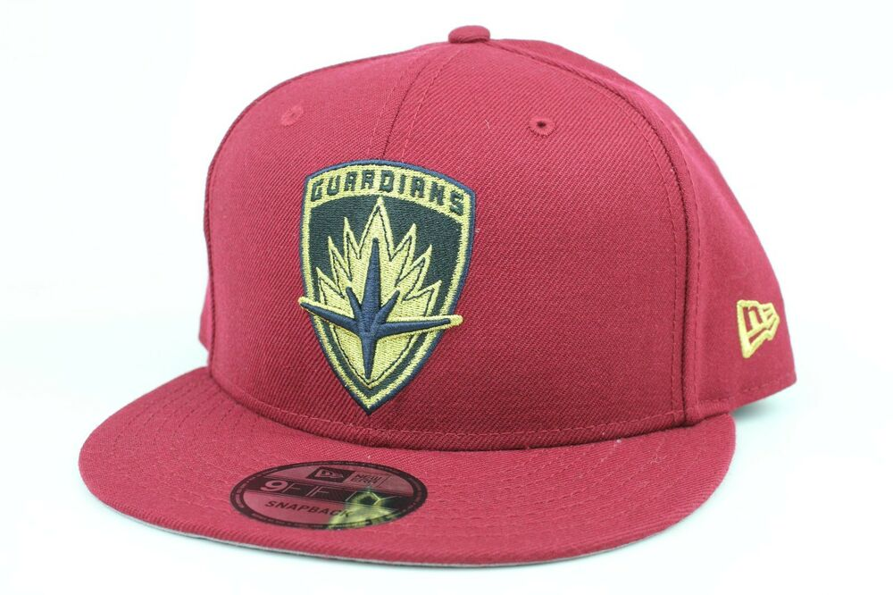 Details about Marvel Guardians of the Galaxy Vol 2 Maroon Black Gold Shield New  Era 9Fifty Hat ce9e4d84180e2
