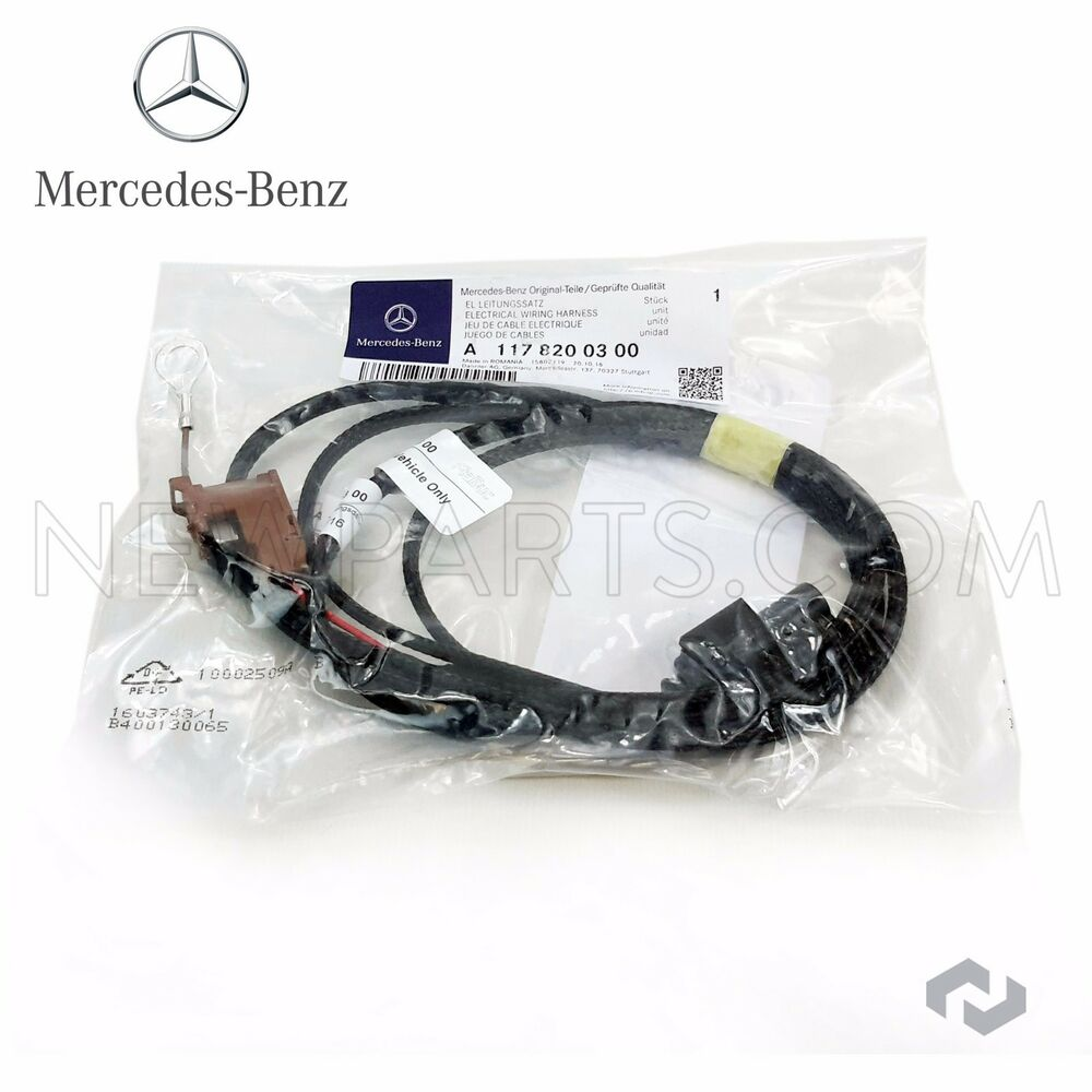 For Mercedes Benz Electrical Cable Wiring Harness Genuine Illuminated Star Ebay