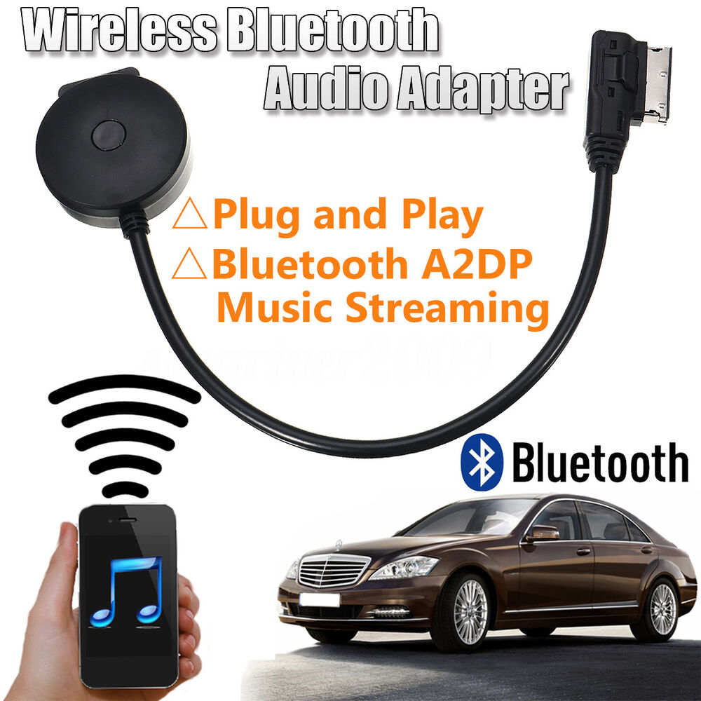2019 Bluetooth Music Adapter Ami Mmi Interface Usb Charge: 2in1 Wireless MMI MDI To Bluetooth Adapter USB Music AUX